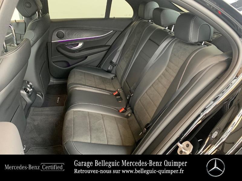 Photo 11 de l'offre de MERCEDES-BENZ Classe E 220 d 194ch AMG Line 9G-Tronic à 56900€ chez Garage Belleguic - Mercedes-Benz Quimper