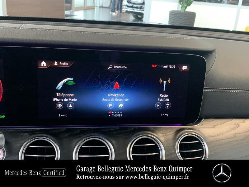 Photo 8 de l'offre de MERCEDES-BENZ Classe E 220 d 194ch AMG Line 9G-Tronic à 56900€ chez Garage Belleguic - Mercedes-Benz Quimper