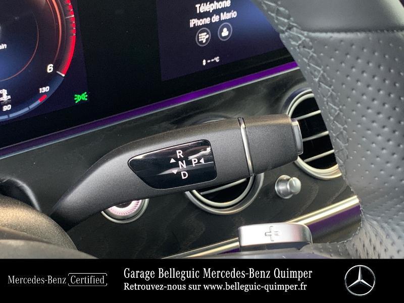 Photo 10 de l'offre de MERCEDES-BENZ Classe E 220 d 194ch AMG Line 9G-Tronic à 56900€ chez Garage Belleguic - Mercedes-Benz Quimper
