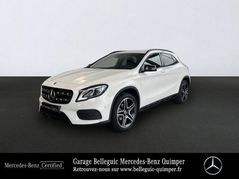 Mercedes-Benz Classe GLA 180 d Fascination 7G-DCT Diesel Blanc Occasion à vendre