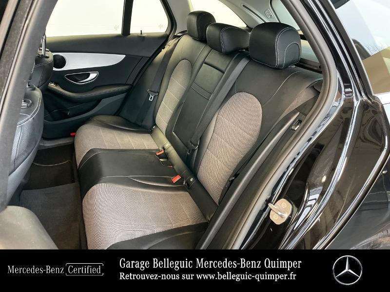 Photo 11 de l'offre de MERCEDES-BENZ Classe C Break 180 d Executive 7G-Tronic Plus à 25390€ chez Garage Belleguic - Mercedes-Benz Quimper