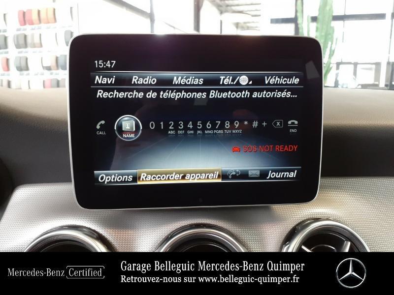 Photo 24 de l'offre de MERCEDES-BENZ Classe GLA 180 d Sensation 7G-DCT à 25889€ chez Garage Belleguic - Mercedes-Benz Quimper