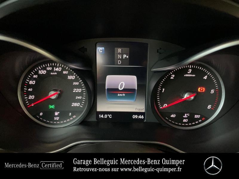 Photo 9 de l'offre de MERCEDES-BENZ Classe C Break 180 d Executive 7G-Tronic Plus à 25390€ chez Garage Belleguic - Mercedes-Benz Quimper