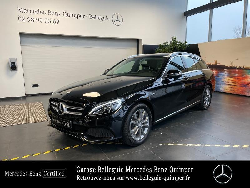 Photo 31 de l'offre de MERCEDES-BENZ Classe C Break 180 d Executive 7G-Tronic Plus à 25390€ chez Garage Belleguic - Mercedes-Benz Quimper