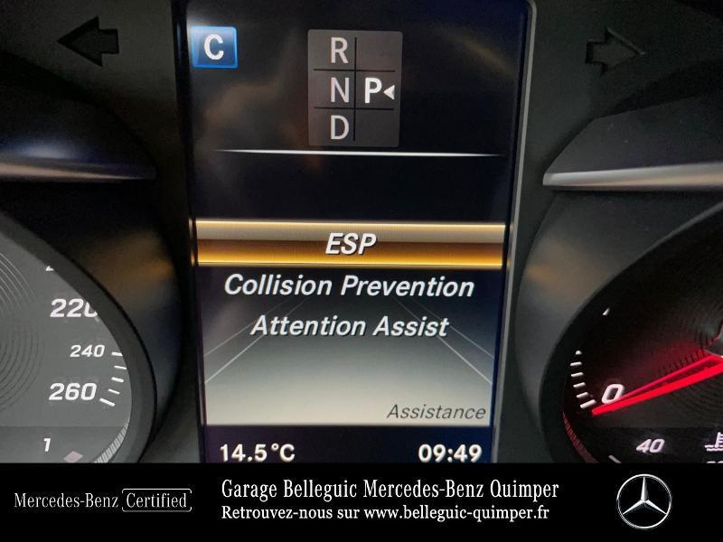 Photo 20 de l'offre de MERCEDES-BENZ Classe C Break 180 d Executive 7G-Tronic Plus à 25390€ chez Garage Belleguic - Mercedes-Benz Quimper