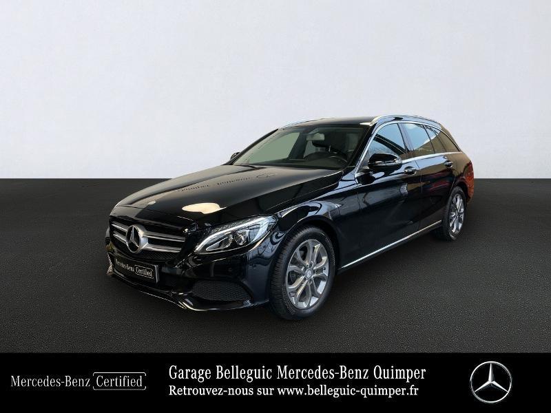 Photo 1 de l'offre de MERCEDES-BENZ Classe C Break 180 d Executive 7G-Tronic Plus à 25390€ chez Garage Belleguic - Mercedes-Benz Quimper