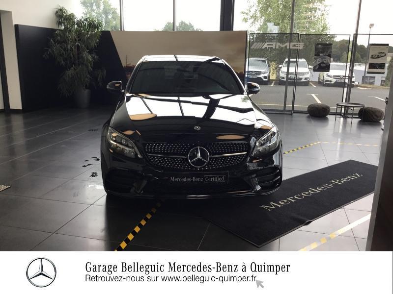 Photo 5 de l'offre de MERCEDES-BENZ Classe C 300 de 194+122ch AMG Line 9G-Tronic à 48900€ chez Garage Belleguic - Mercedes-Benz Quimper