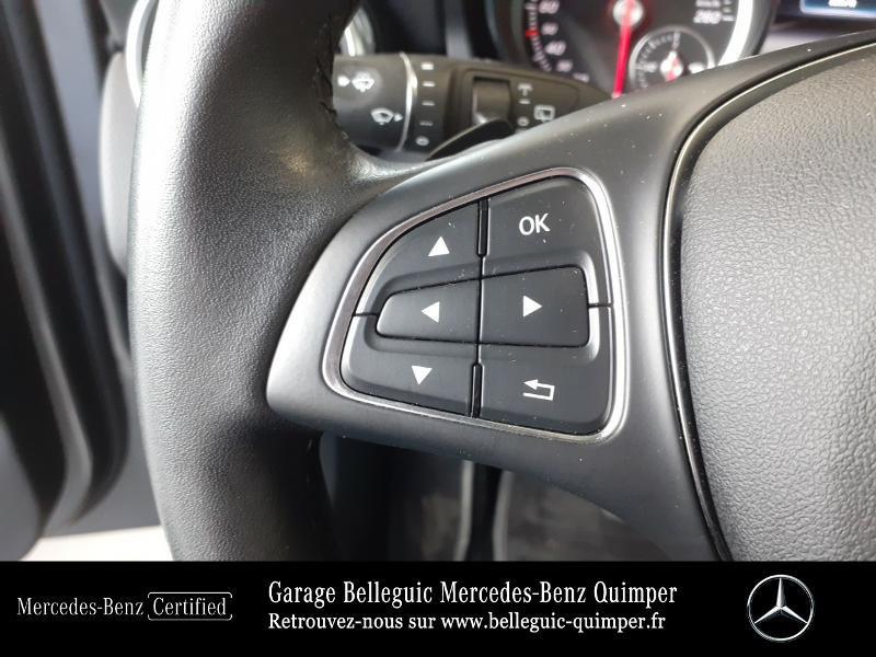Photo 20 de l'offre de MERCEDES-BENZ Classe GLA 180 d Inspiration 7G-DCT à 24890€ chez Garage Belleguic - Mercedes-Benz Quimper