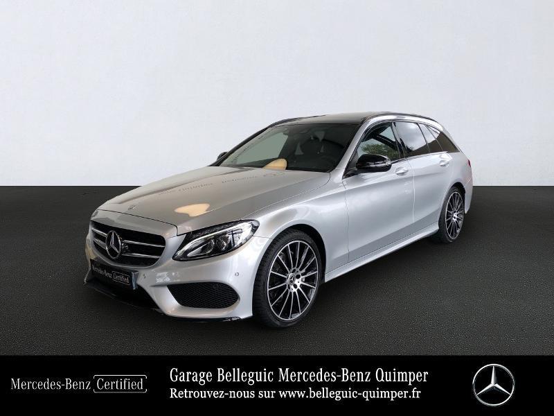 Mercedes-Benz Classe C Break 220 d Sportline 9G-Tronic Diesel Argent Iridium Métalisé Occasion à vendre