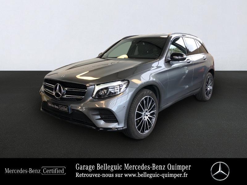Mercedes-Benz GLC 250 211ch Sportline 4Matic 9G-Tronic Euro6d-T Essence gris sélénite Occasion à vendre