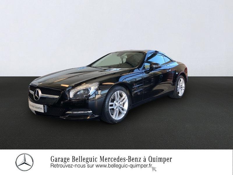 Mercedes-Benz Classe SL 350 7G-Tronic + Essence Noir Obsidienne métal Occasion à vendre