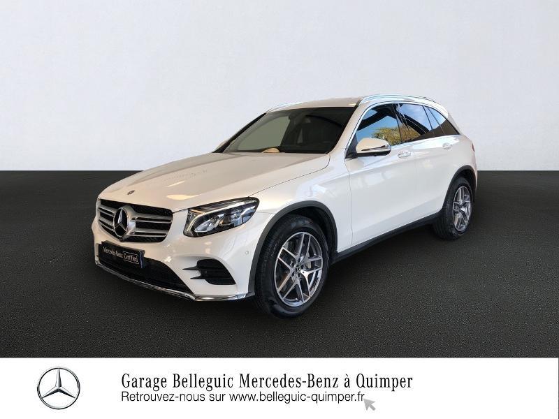 Mercedes-Benz GLC 220 d 170ch Sportline 4Matic 9G-Tronic Diesel Blanc Polaire Occasion à vendre