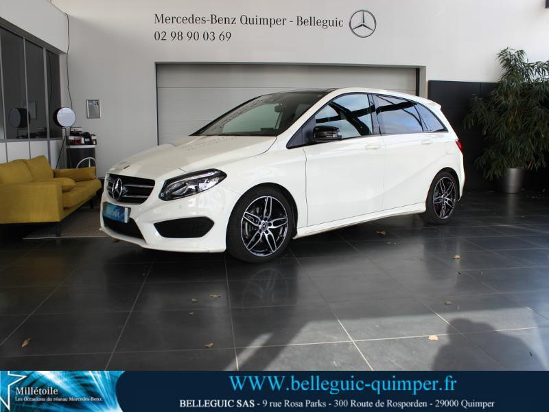 Mercedes-Benz Classe B 200 d Fascination 7G-DCT Diesel Blanc Cirrus Occasion à vendre