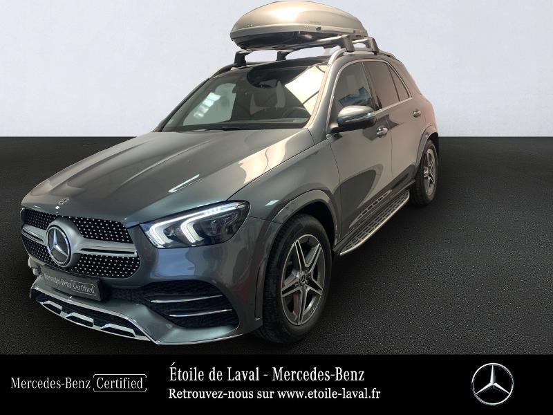 Mercedes-Benz GLE 300 d 245ch AMG Line 4Matic 9G-Tronic Diesel GRIS SELENITE Occasion à vendre