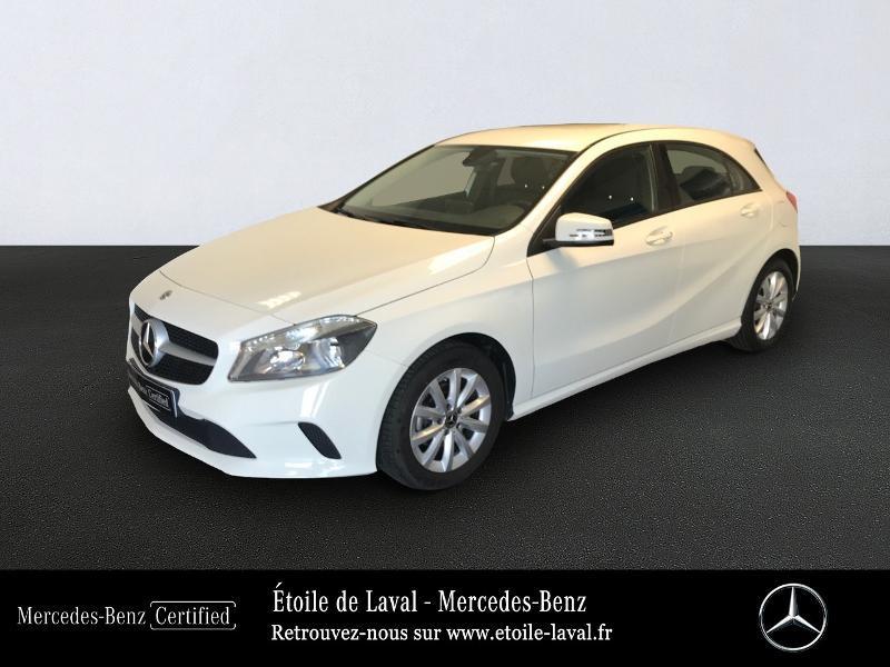 Mercedes-Benz Classe A 180 d Intuition Diesel Blanc Cirrus Occasion à vendre