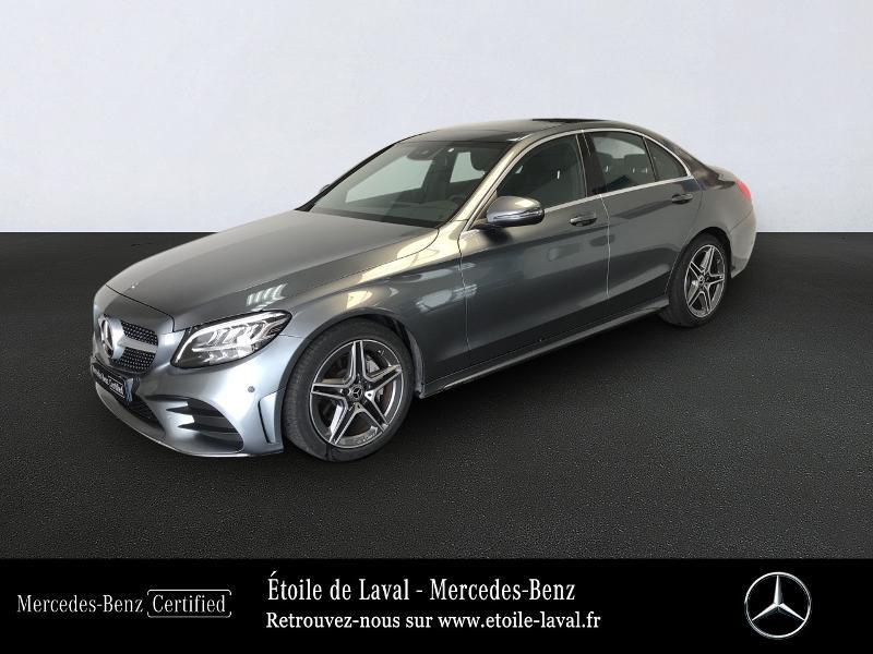 Mercedes-Benz Classe C 220 d 194ch AMG Line 9G-Tronic Diesel Gris Sélénite Occasion à vendre