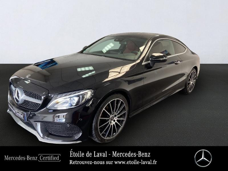 Mercedes-Benz Classe C Coupe 250 d 204ch Sportline 9G-Tronic Diesel Noir Obsidienne Occasion à vendre