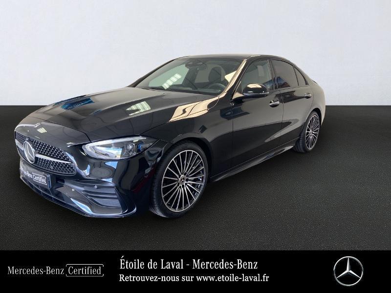 Mercedes-Benz Classe C 220 d 200ch AMG Line 9G-Tronic Diesel noir obsidienne Occasion à vendre