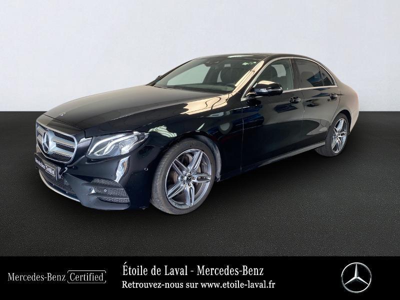 Mercedes-Benz Classe E 220 d 194ch AMG Line 9G-Tronic Diesel NOIR Occasion à vendre