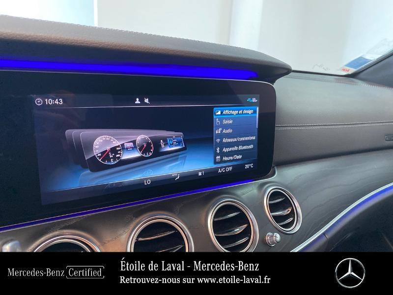 Photo 10 de l'offre de MERCEDES-BENZ Classe E 220 d 194ch AMG Line 9G-Tronic à 42890€ chez Etoile de Laval – Mercedes-Benz Laval