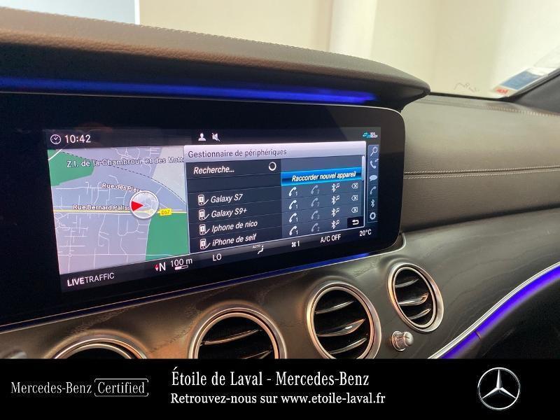 Photo 12 de l'offre de MERCEDES-BENZ Classe E 220 d 194ch AMG Line 9G-Tronic à 42890€ chez Etoile de Laval – Mercedes-Benz Laval