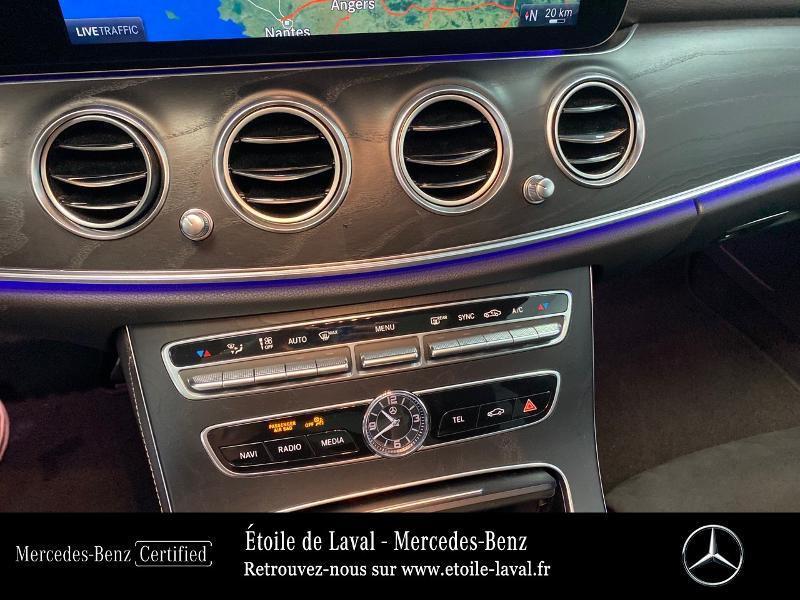 Photo 7 de l'offre de MERCEDES-BENZ Classe E 220 d 194ch AMG Line 9G-Tronic à 42890€ chez Etoile de Laval – Mercedes-Benz Laval