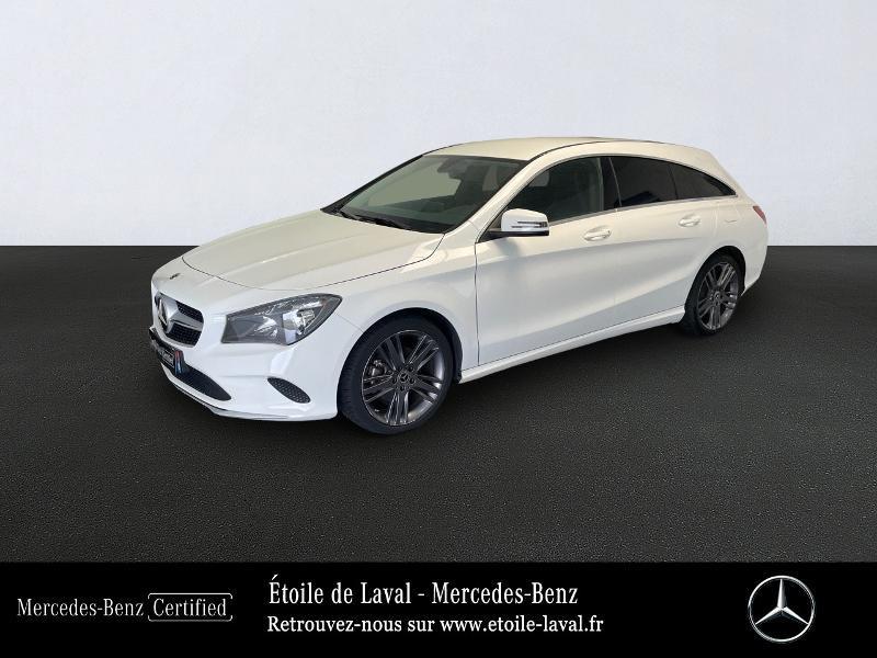 Mercedes-Benz CLA Shooting Brake 180 d Inspiration 7G-DCT Diesel Blanc Polaire Occasion à vendre