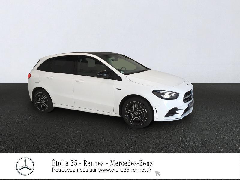 Mercedes-Benz Classe B 250 e 160+102ch AMG Line Edition 8G-DCT Hybride Blanc Polaire Occasion à vendre