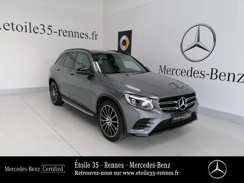 Mercedes-Benz GLC 250 d 204ch Fascination 4Matic 9G-Tronic Euro6c Diesel Gris Sélénite Occasion à vendre