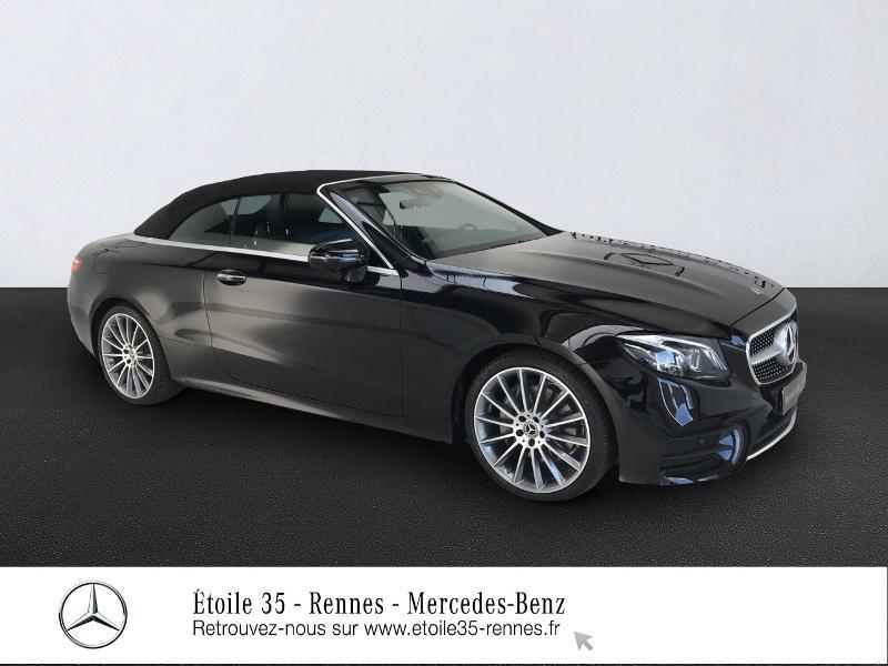 Mercedes-Benz Classe E Cabriolet 220 d 194ch AMG Line 9G-Tronic Diesel Noir Obsidienne Occasion à vendre