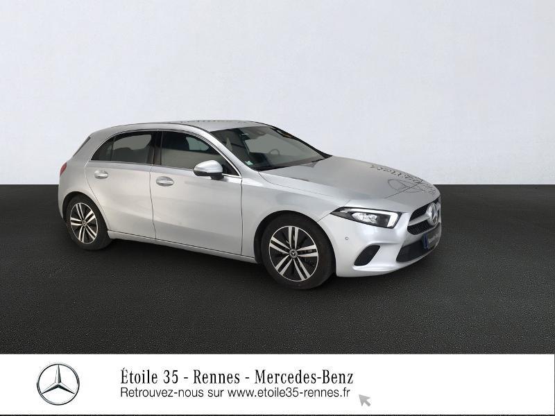 Mercedes-Benz Classe A 200 d 150ch Progressive Line 8G-DCT Diesel gris clair Occasion à vendre