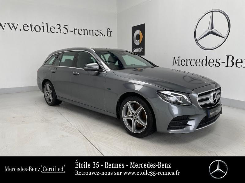 Mercedes-Benz Classe E Break 300 de 194+122ch AMG Line 9G-Tronic Euro6d-T-EVAP-ISC Hybride Gris Sélénite Occasion à vendre
