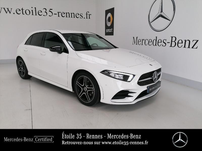 Mercedes-Benz Classe A 200 d 150ch AMG Line 8G-DCT Diesel Blanc Polaire Occasion à vendre
