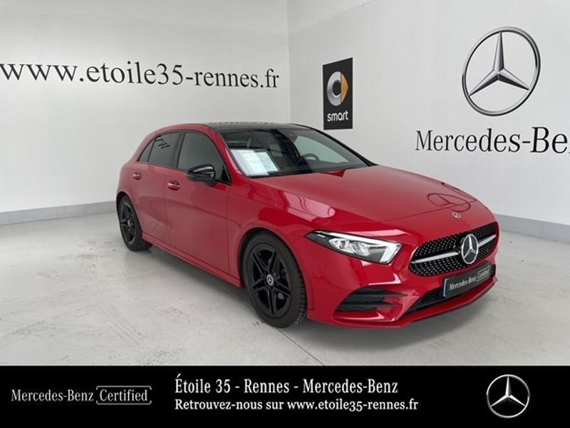 Mercedes-Benz Classe A 180 d AMG Line 7G-DCT Diesel Rouge Jupiter Occasion à vendre