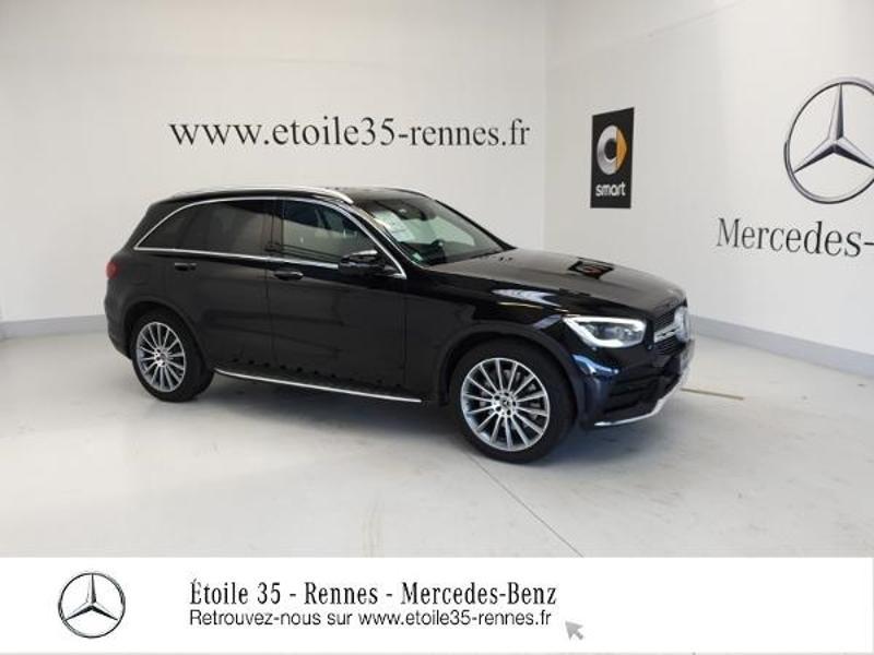 Mercedes-Benz GLC 300 d 245ch AMG Line 4Matic 9G-Tronic Diesel Noir Obsidienne Occasion à vendre