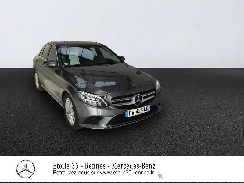 Mercedes-Benz Classe C 200 d 150ch Avantgarde Line 9G-Tronic Diesel Gris Sélénite Occasion à vendre