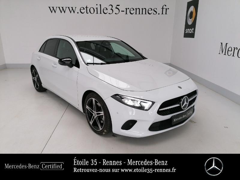 Mercedes-Benz Classe A 200 d 150ch Progressive Line 8G-DCT Diesel Blanc digital métallisé Occasion à vendre