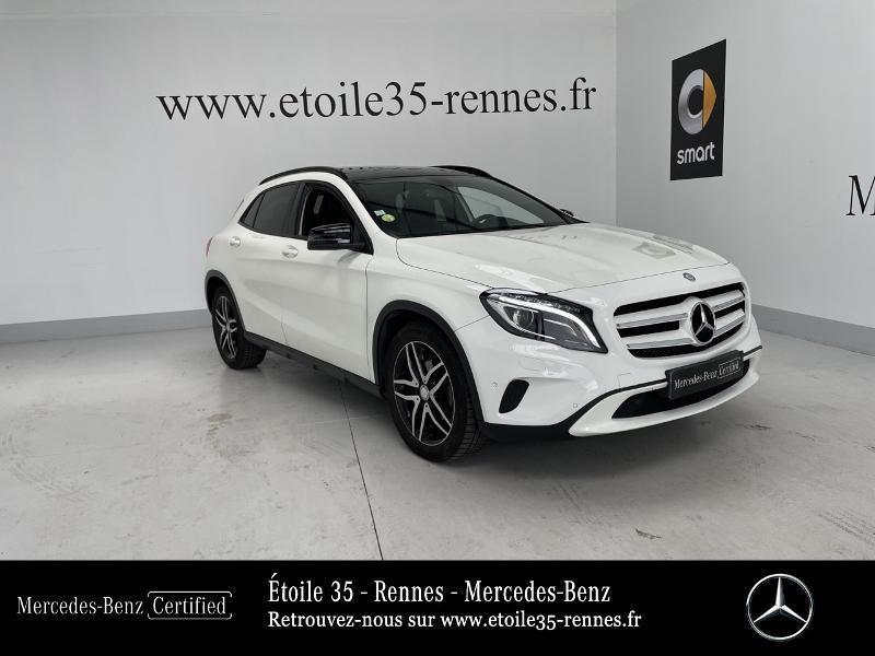 Mercedes-Benz Classe GLA 200 CDI Sensation 7G-DCT Diesel Blanc Cirrus Occasion à vendre