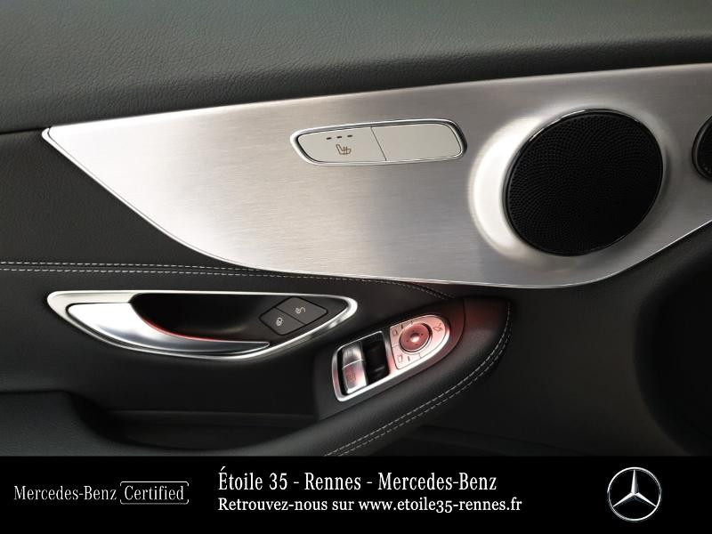 Photo 17 de l'offre de MERCEDES-BENZ Classe C Coupe 220 d 194ch AMG Line 9G-Tronic Euro6d-T à 46490€ chez Etoile 35 - Mercedes-Benz Rennes