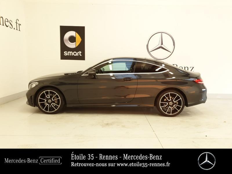 Photo 2 de l'offre de MERCEDES-BENZ Classe C Coupe 220 d 194ch AMG Line 9G-Tronic Euro6d-T à 46490€ chez Etoile 35 - Mercedes-Benz Rennes