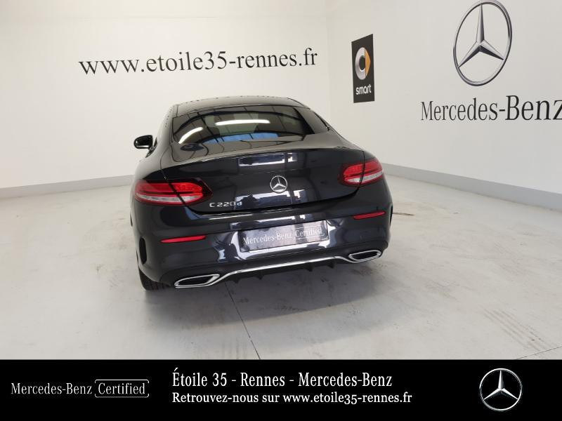 Photo 20 de l'offre de MERCEDES-BENZ Classe C Coupe 220 d 194ch AMG Line 9G-Tronic Euro6d-T à 46490€ chez Etoile 35 - Mercedes-Benz Rennes