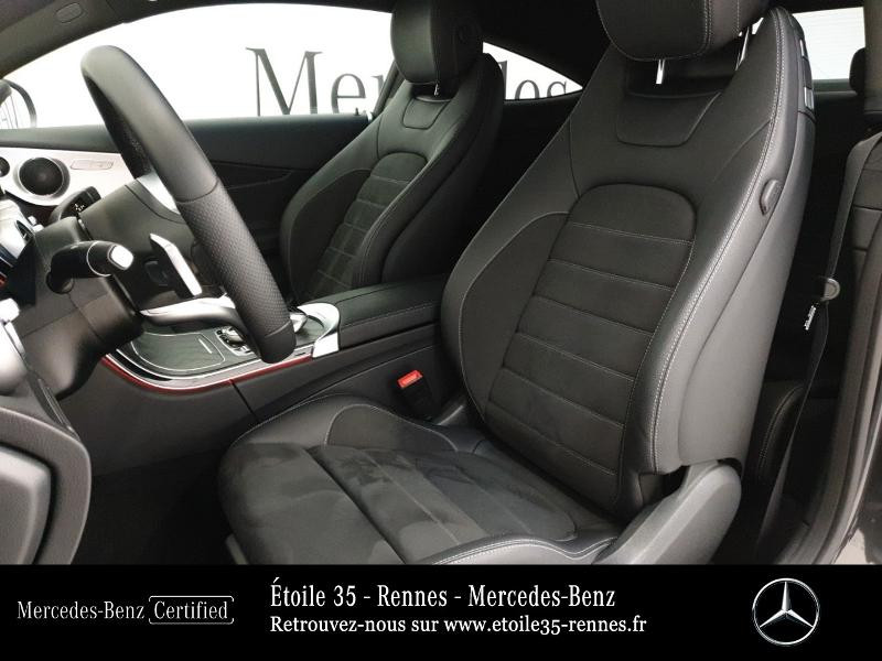 Photo 18 de l'offre de MERCEDES-BENZ Classe C Coupe 220 d 194ch AMG Line 9G-Tronic Euro6d-T à 46490€ chez Etoile 35 - Mercedes-Benz Rennes