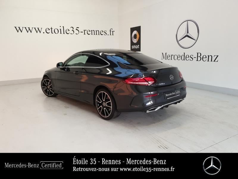 Photo 3 de l'offre de MERCEDES-BENZ Classe C Coupe 220 d 194ch AMG Line 9G-Tronic Euro6d-T à 46490€ chez Etoile 35 - Mercedes-Benz Rennes