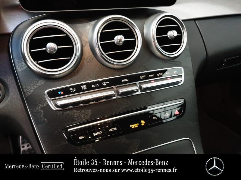 Photo 10 de l'offre de MERCEDES-BENZ Classe C Coupe 220 d 194ch AMG Line 9G-Tronic Euro6d-T à 46490€ chez Etoile 35 - Mercedes-Benz Rennes