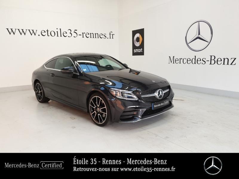 Mercedes-Benz Classe C Coupe 220 d 194ch AMG Line 9G-Tronic Euro6d-T Diesel Gris Foncé Occasion à vendre