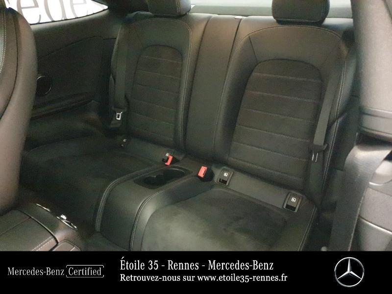 Photo 11 de l'offre de MERCEDES-BENZ Classe C Coupe 220 d 194ch AMG Line 9G-Tronic Euro6d-T à 46490€ chez Etoile 35 - Mercedes-Benz Rennes