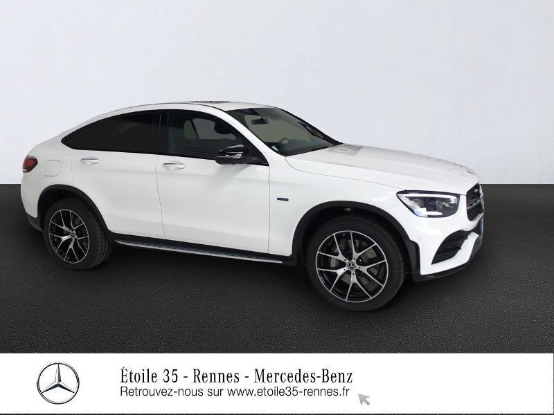 Mercedes-Benz GLC Coupe 300 de 194+122ch AMG Line 4Matic 9G-Tronic Hybride Blanc Polaire Occasion à vendre
