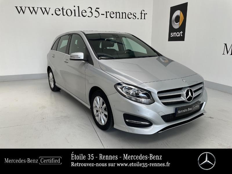 Mercedes-Benz Classe B 180 d 109ch Inspiration Diesel gris argent Occasion à vendre