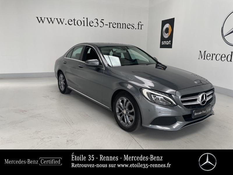 Mercedes-Benz Classe C 200 d 2.2 Business Executive 7G-Tronic Plus Diesel gris selenite Occasion à vendre