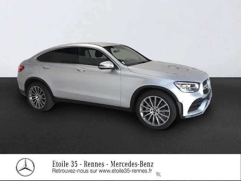 Mercedes-Benz GLC Coupe 300 d 245ch AMG Line 4Matic 9G-Tronic Diesel Argent Iridium Occasion à vendre